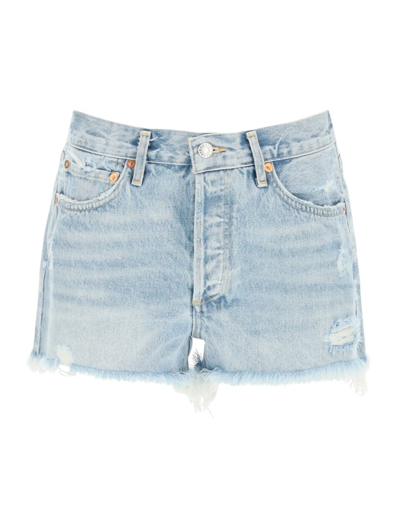 AGOLDE Parker Shorts - SWAP MEET (Blue)