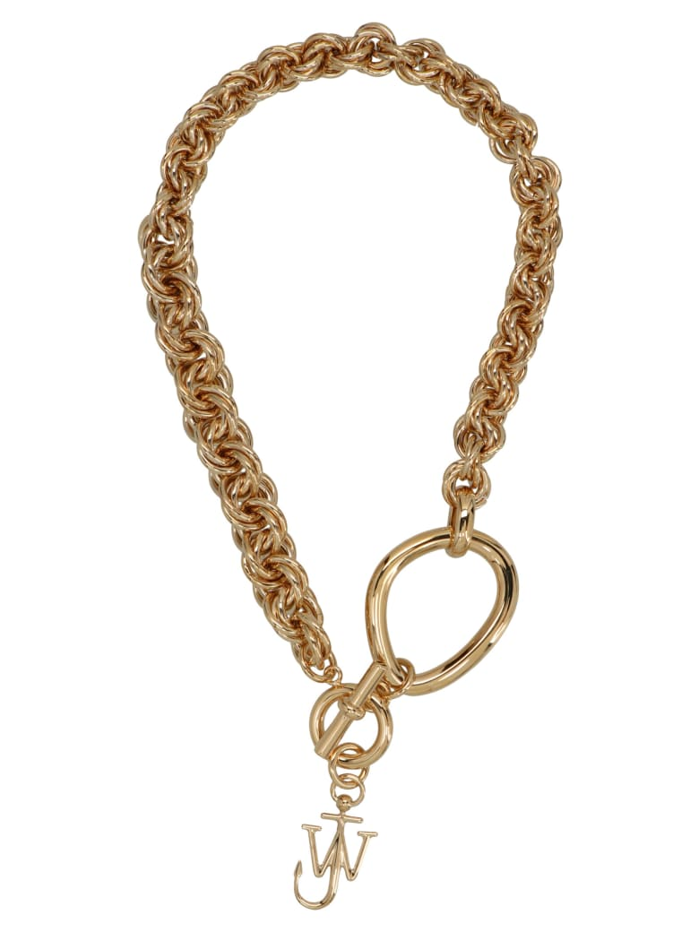 J.W. Anderson 'oversize Link Chain' Necklace - Gold
