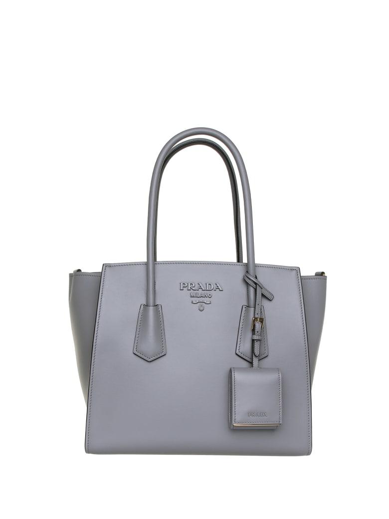 Prada Prada Logo Shoulder Bag - ARDESIA