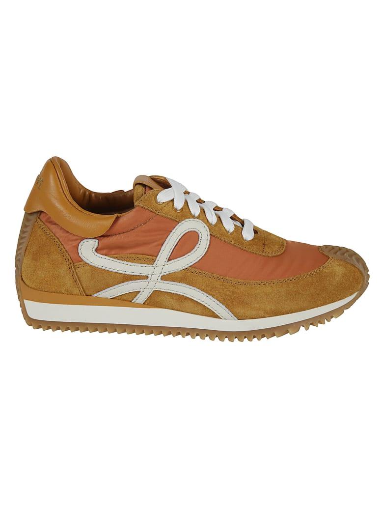 Loewe Flow Runner Sneakers - Copper Orange