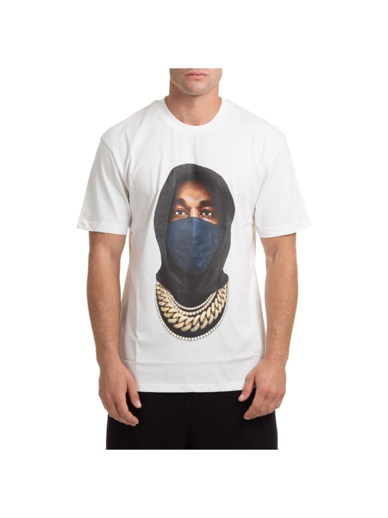 ih nom uh nit Mask T-shirt - Bianco