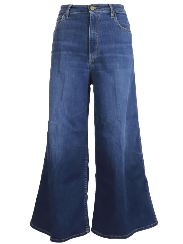Cycle Open High  Jeans - DARK DENIM