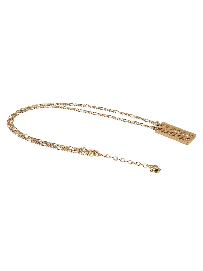 Versace Medusa Head Logo Necklace - Gold