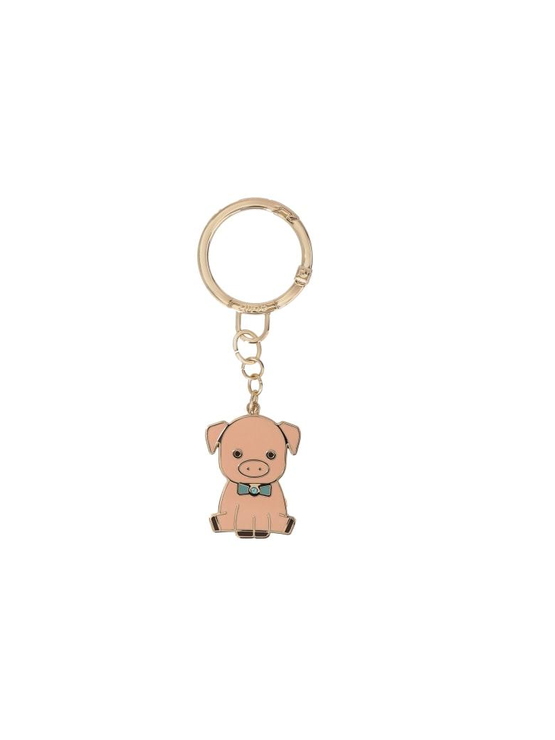 Liu-Jo Pig Key Ring - Pink