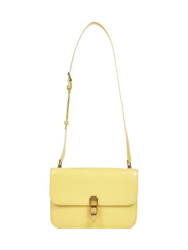 Saint Laurent Le Carre Shoulder Bag - Yellow