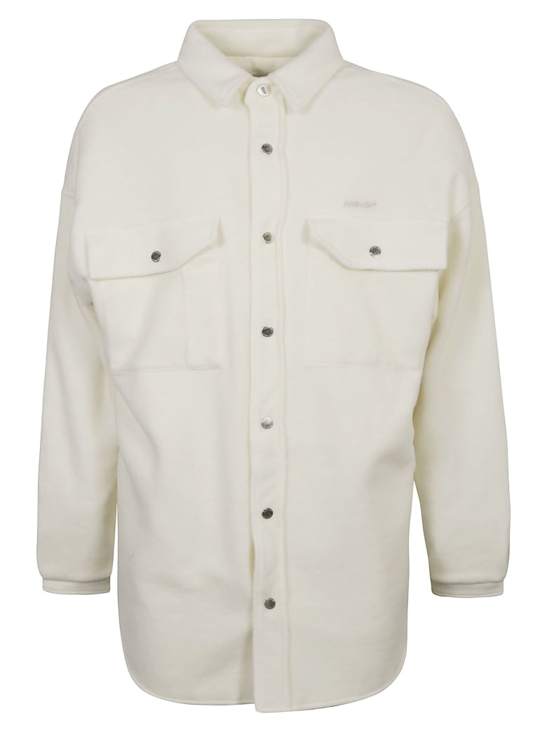 AMBUSH Oversized Shirt Coat - Tofu Birch