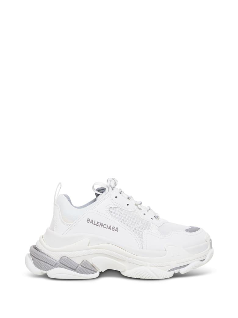Balenciaga Triple S White Sneakers - White