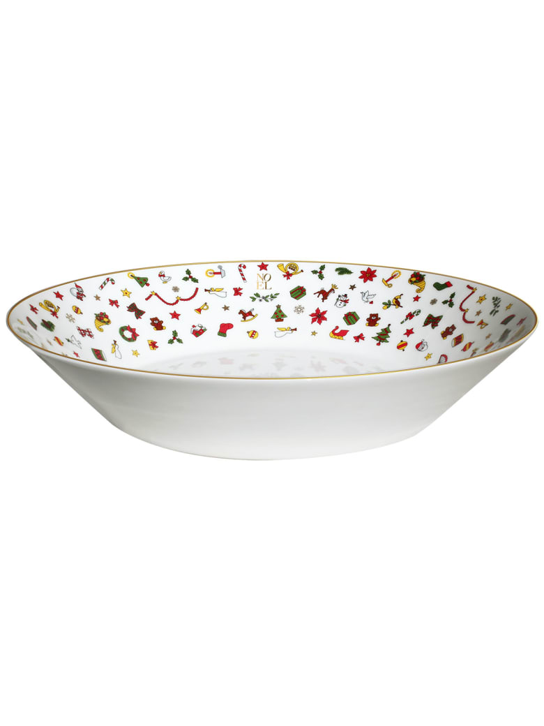 Taitù Large Bowl - Noel Oro Collection - Multicolor and Gold