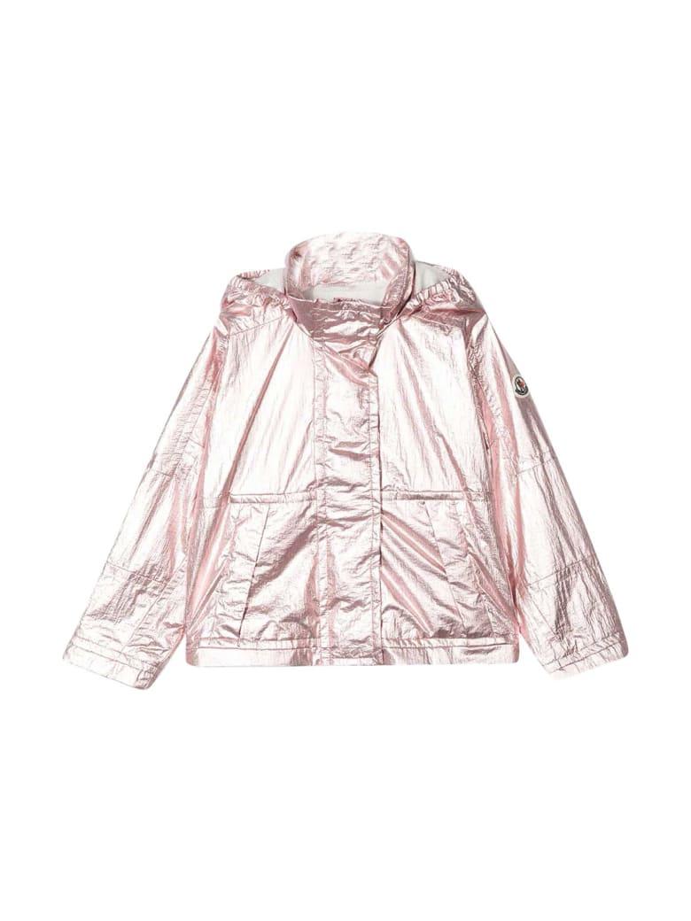 Moncler Metallic Pink Lightweight Jacket - Rosa