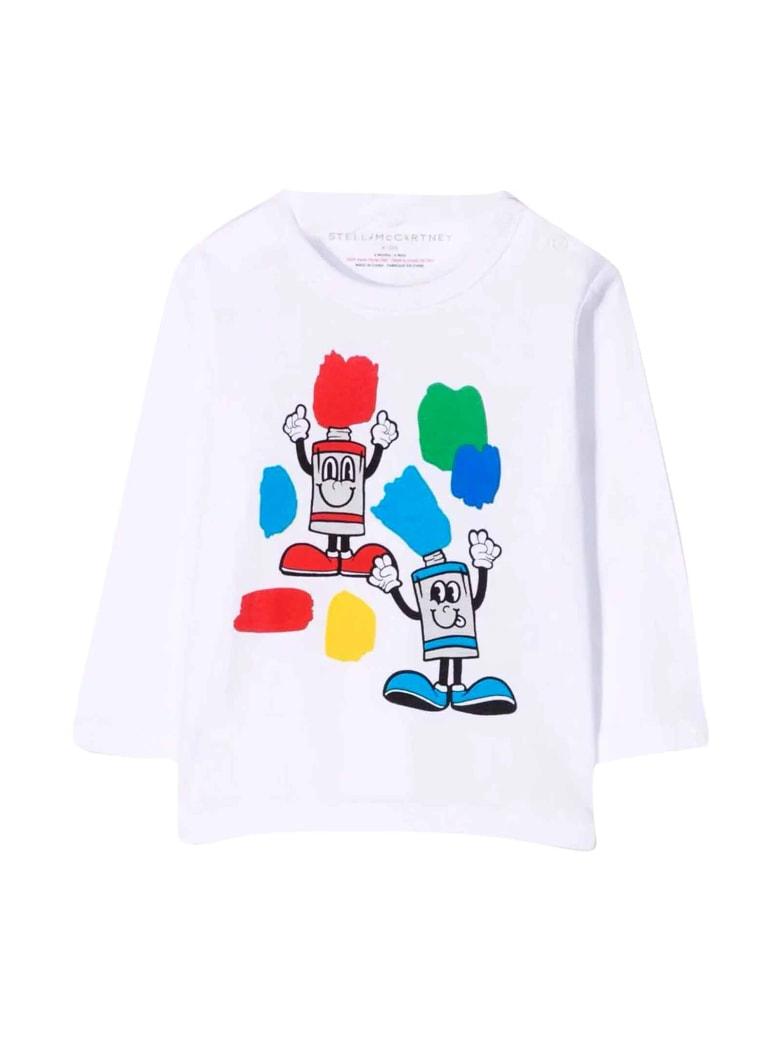 Stella McCartney Kids White T-shirt - Bianco