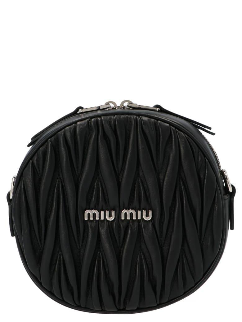 Miu Miu 'bandoliera' Bag - Black