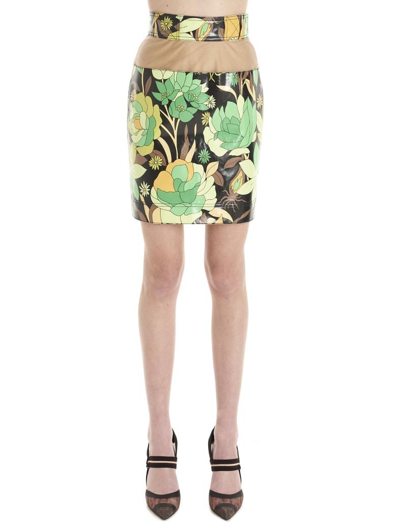 Fendi 'dream Garden' Skirt - Multicolor