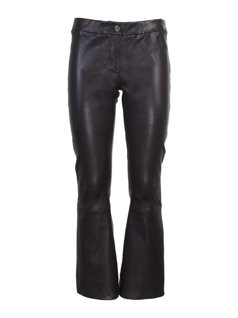 ARMA lambskin trousers - Nero