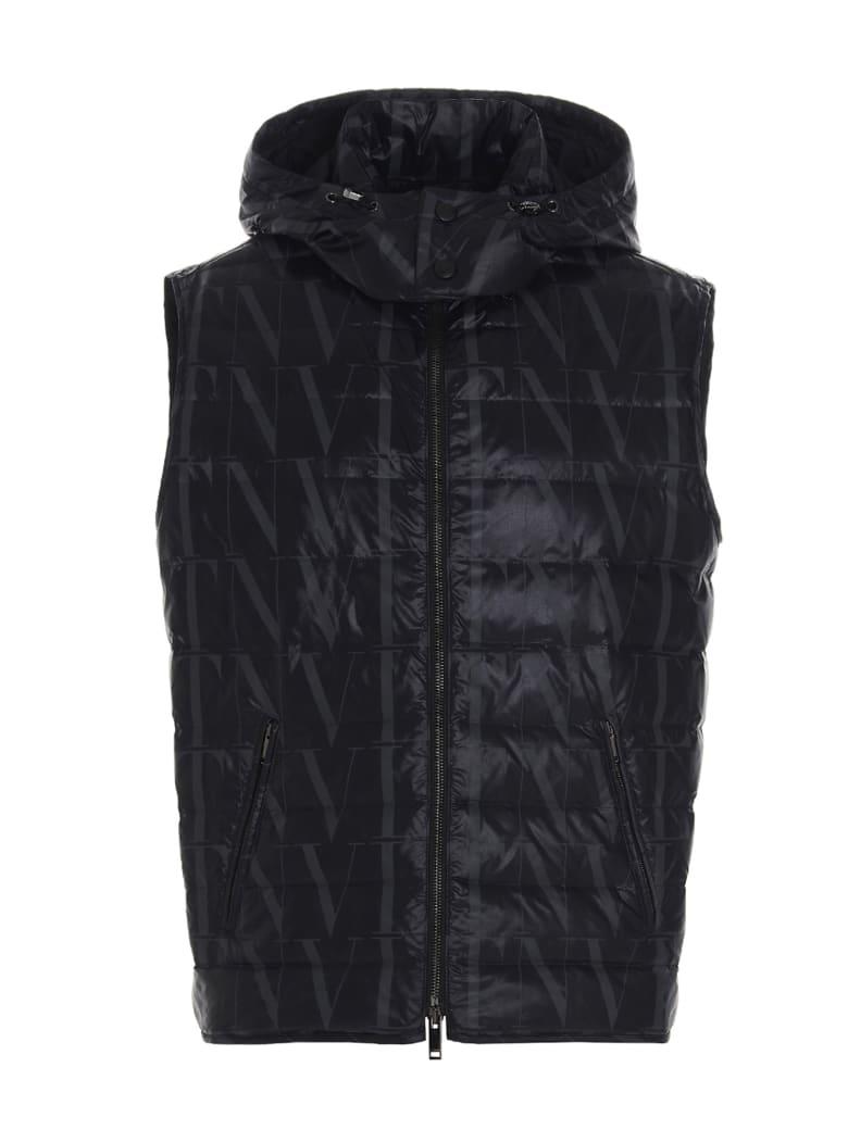 Valentino 'vltn Times' Vest - Black