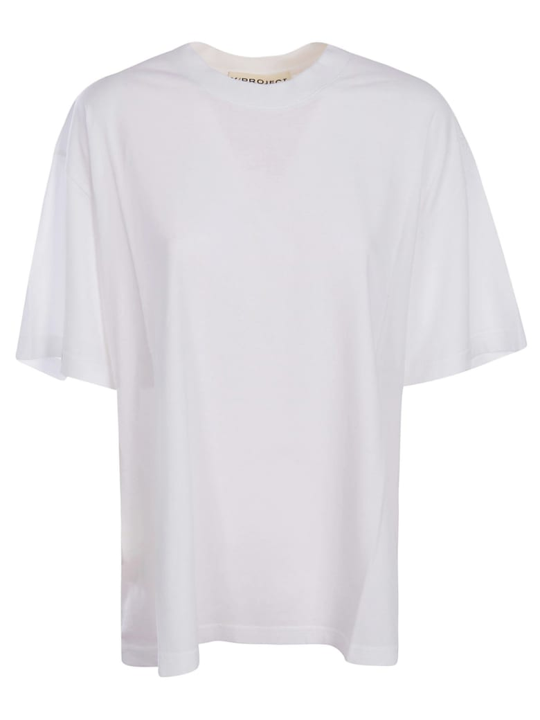 Y/Project Classic Y Back T-shirt - WHITE