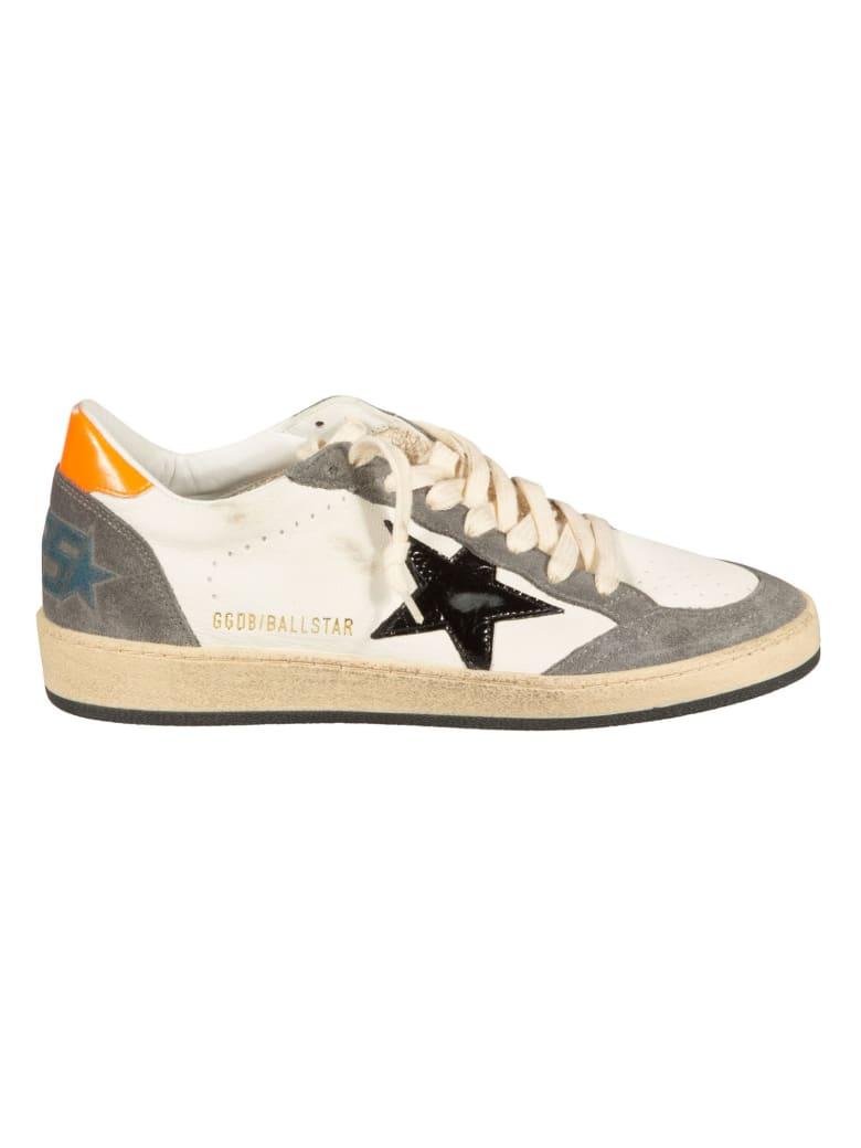Golden Goose Ball Star Sneakers - White/Grey