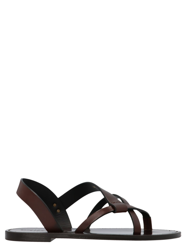 Saint Laurent 'matt' Shoes - Brown