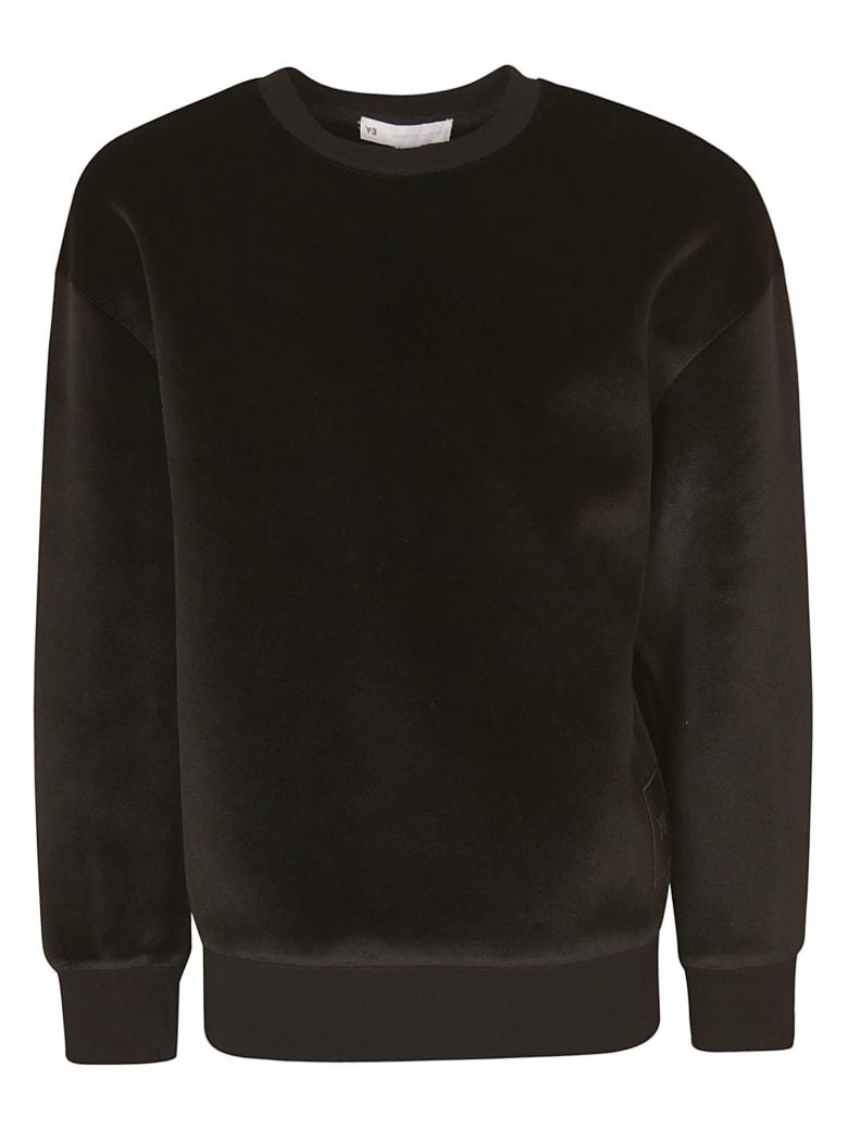 Y-3 Velvet Sweater - Black