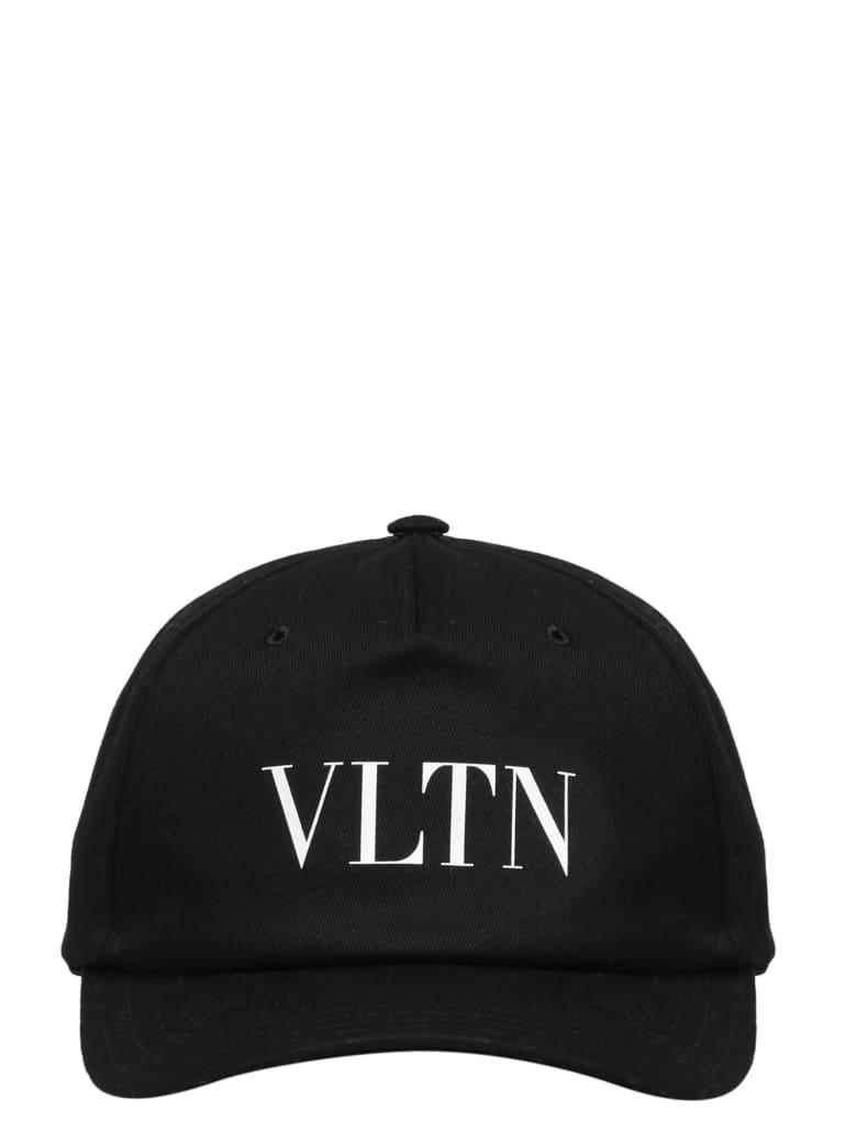 Valentino Garavani Vltn Baseball Hat - Black