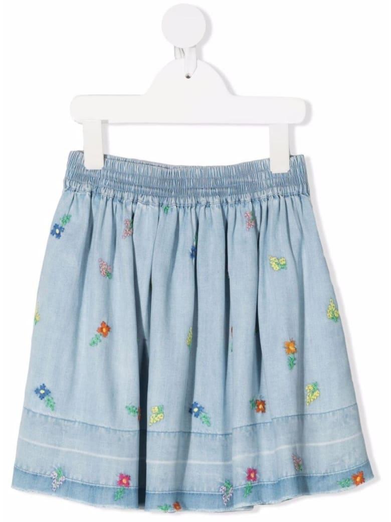 Stella McCartney Kids Lyocell Embroidered Skirt - Multicolor