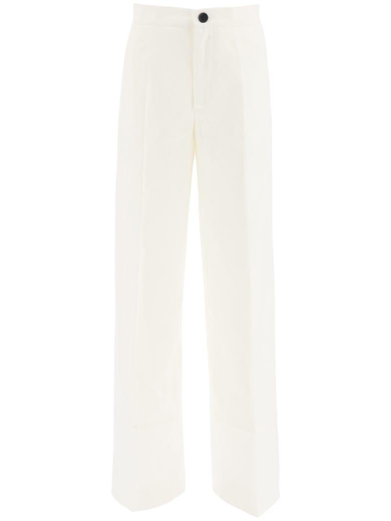 Colville Palazzo Trousers - WHITE (White)