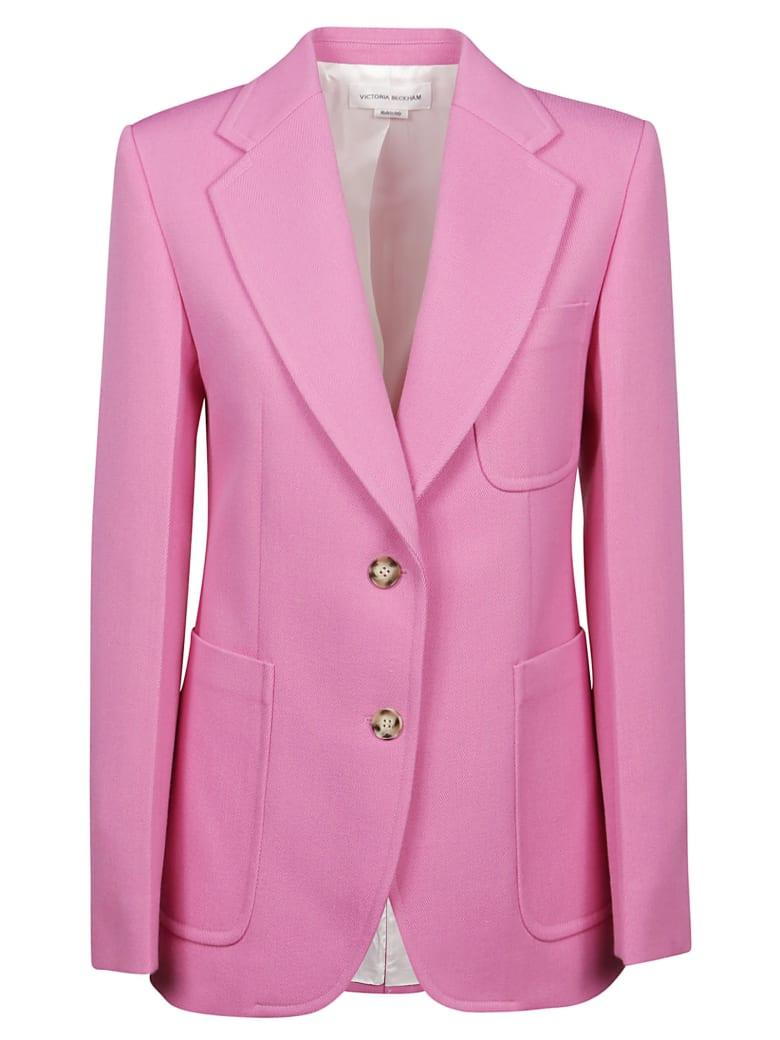 Victoria Beckham Fitted Jacket - Bright Pink