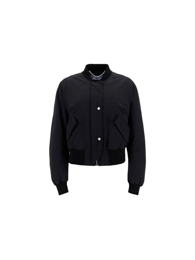 Off-White Bomber Jacket - Black no color