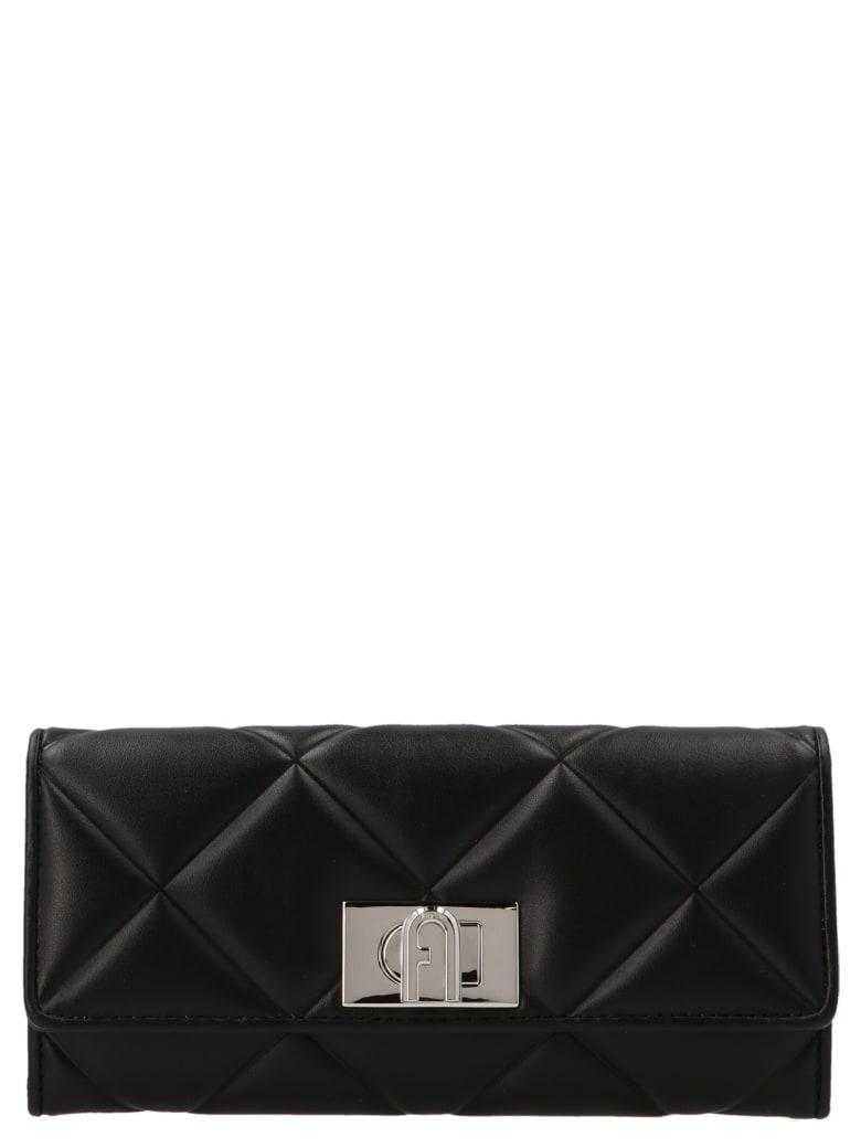 Furla 'continental 1927' Wallet - Black