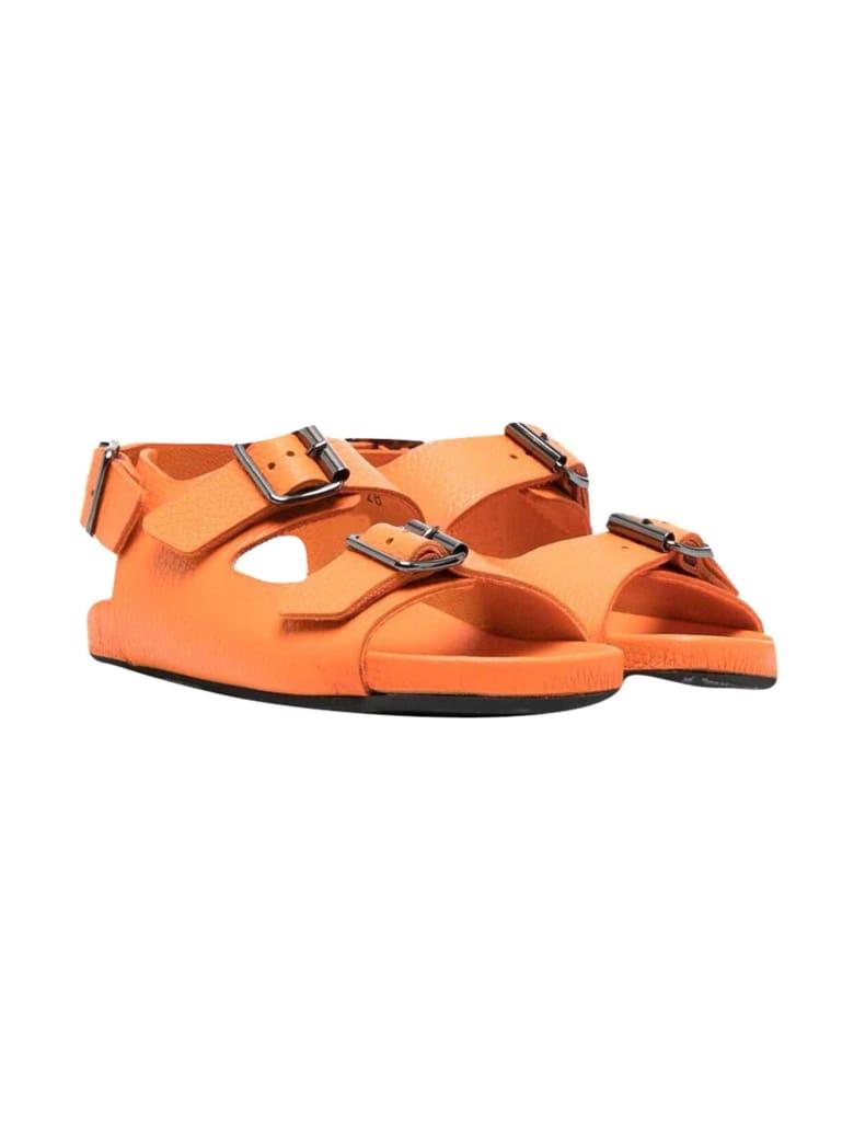 Gallucci Kids Orange Sandals - Mandarino