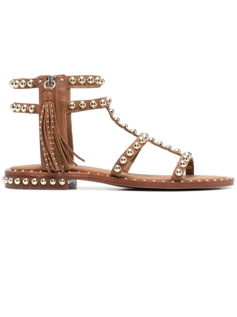 Ash Cinnamon Power Low Sandals - Cuoio