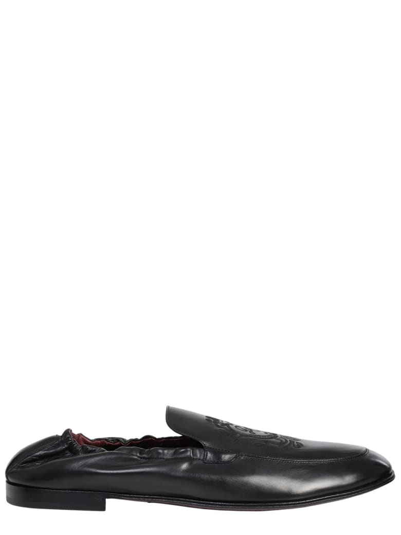 Dolce & Gabbana Black Ariosto Loafers - Black