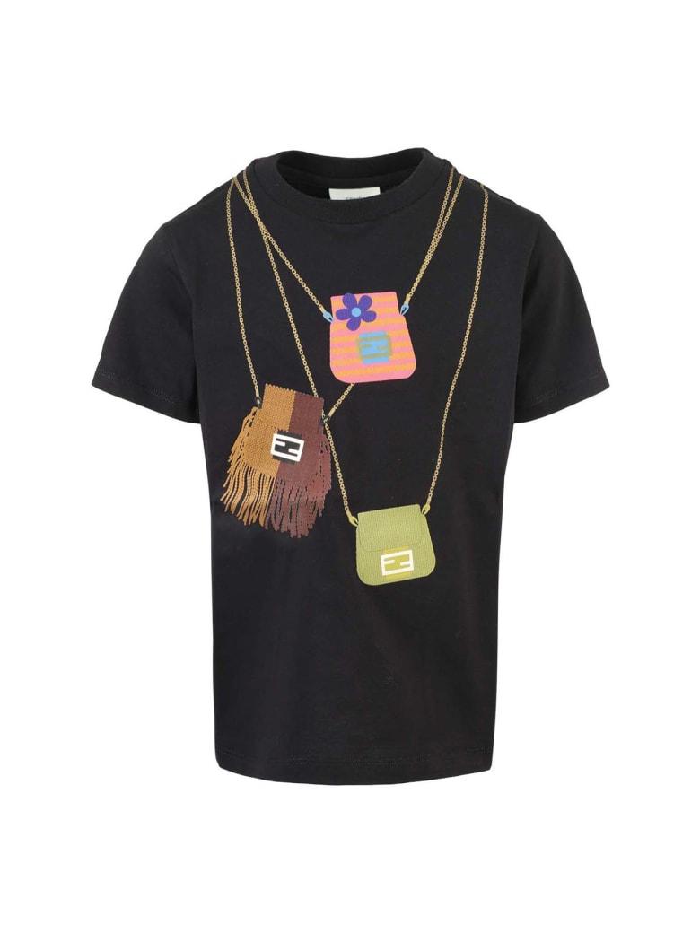 Fendi T-Shirt - Gme Black