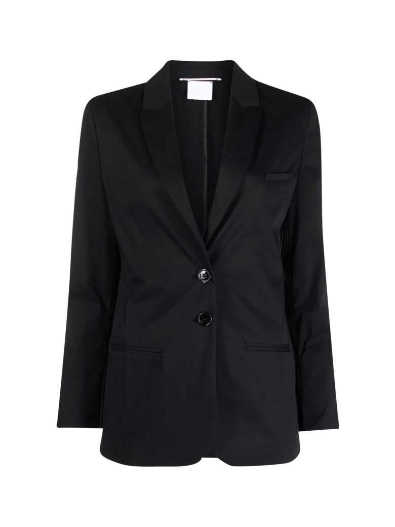 Merci Black Single-breasted Blazer - Nero