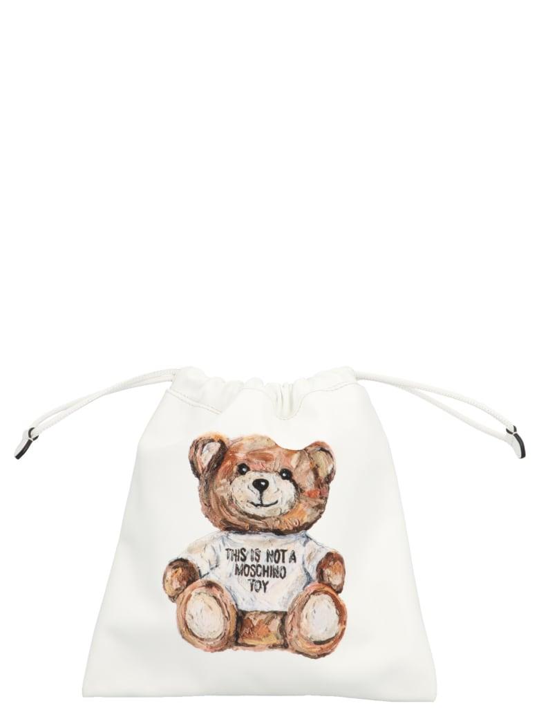 Moschino 'teddy' Bag - White