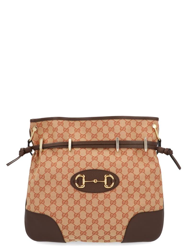 Gucci 'morsetto' Bag - Beige