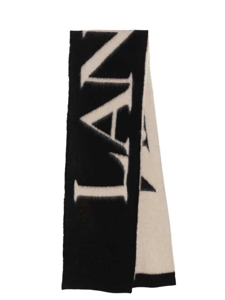 Lanvin Scarf - Black&White