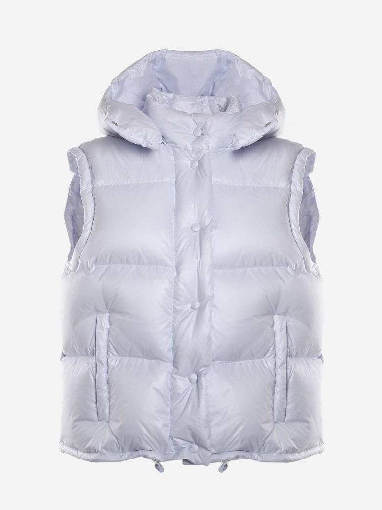 Miu Miu Padded Down Jacket Made Of Nylon - Astro