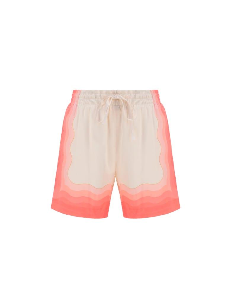 Casablanca Bermuda Shorts - Rose