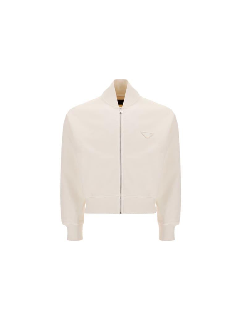 Prada Sweatshirt - Natural white