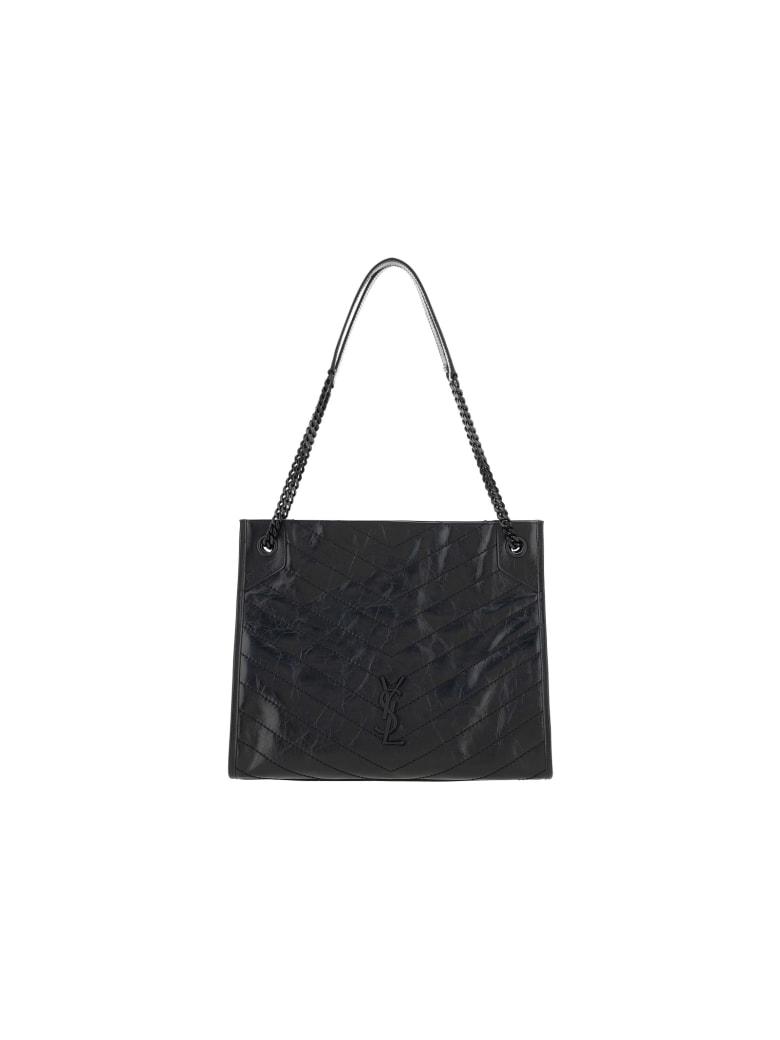 Saint Laurent Medium Niki Shoulder Bag - Nero
