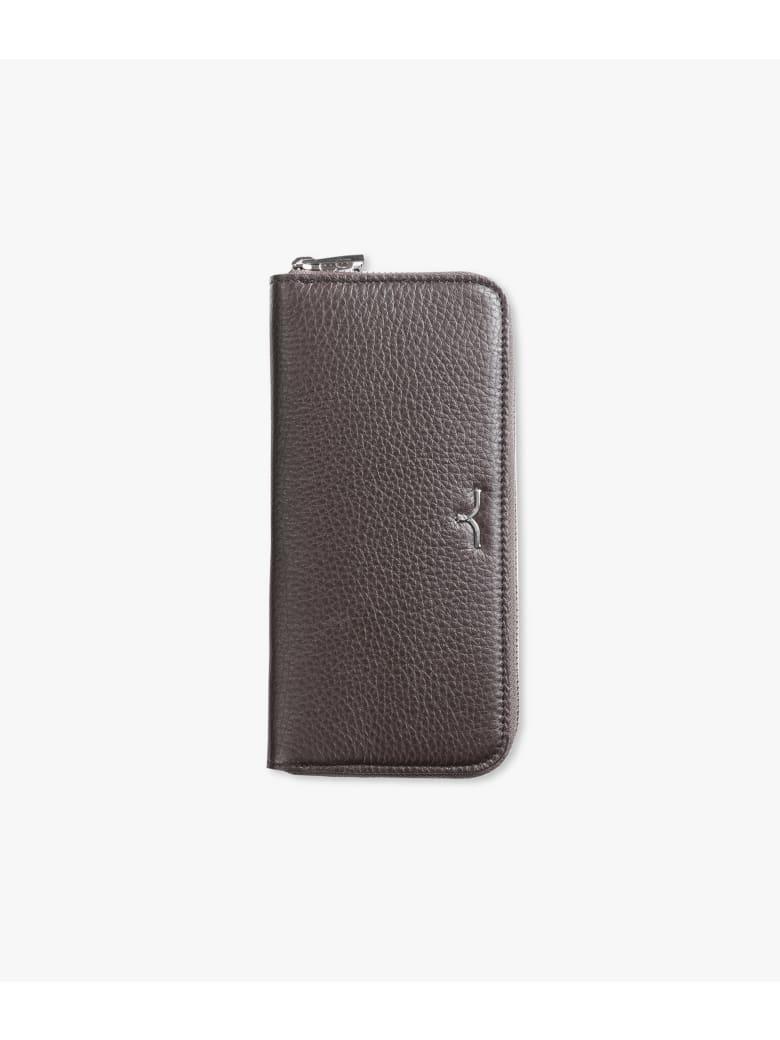 "Larusmiani Wallet ""black Swan"" - brown"