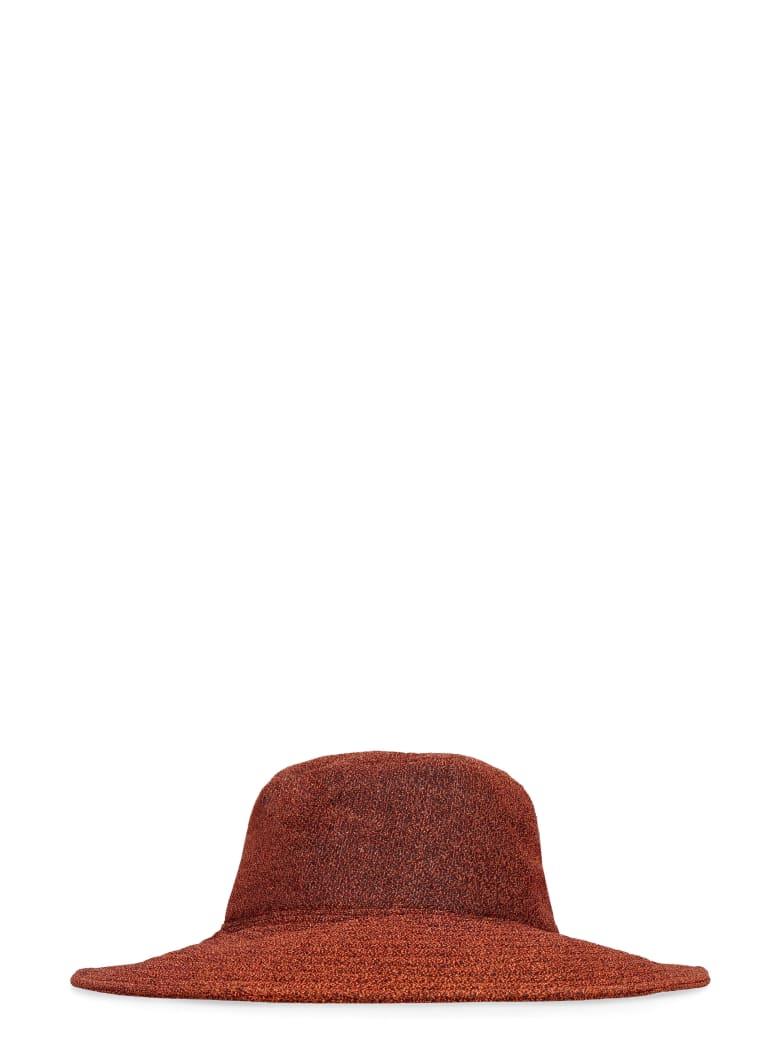 Oseree Lumière Beach Hat - brown