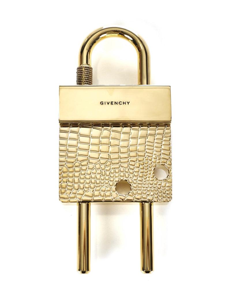 Givenchy Maxi Padlock Key Ring - Gold