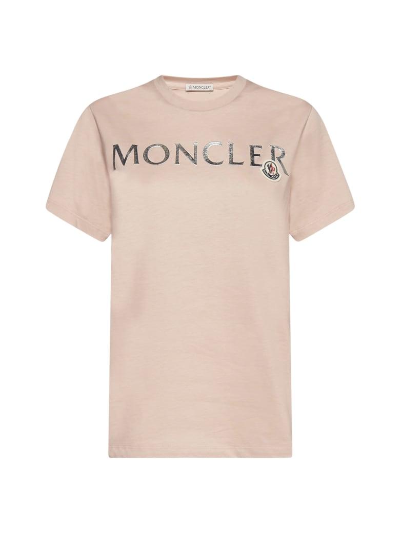Moncler T-Shirt - Rosa
