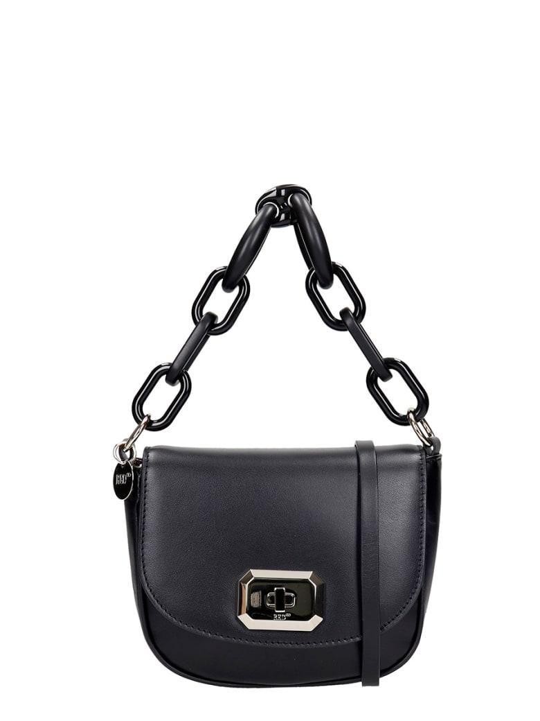 RED Valentino Shoulder Bag In Black Leather - black