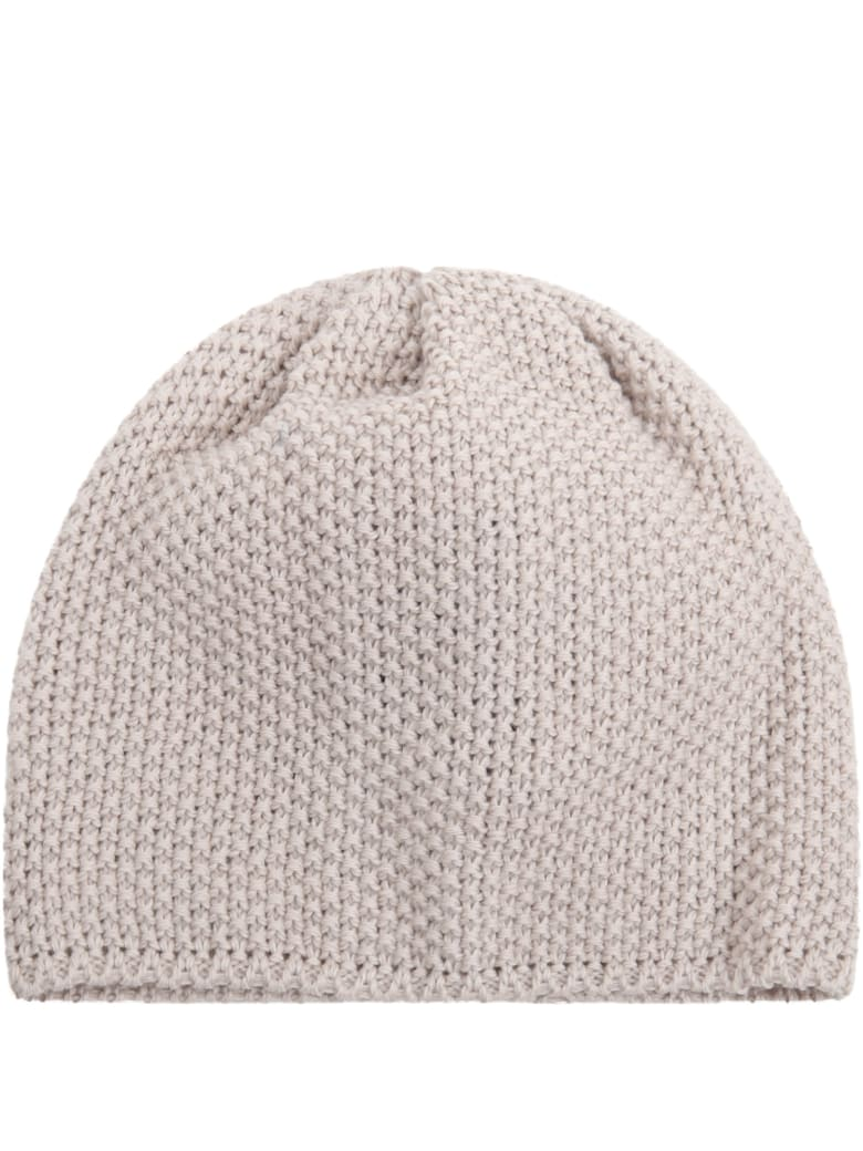 Little Bear Beige Hat For Babykids - Beige