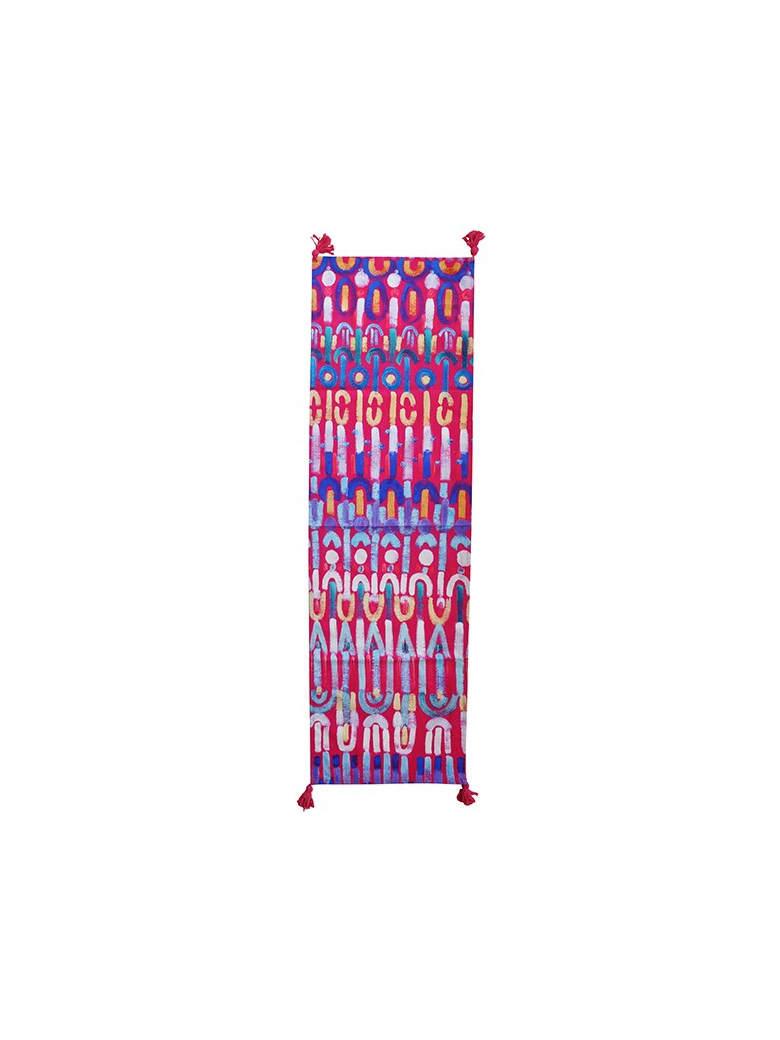Le Botteghe su Gologone Runner Colores 140x50 Cm - Fuchsia Fantasy