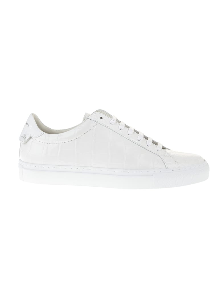 Givenchy Woman White Sneakers With Givenchy 4g Laces