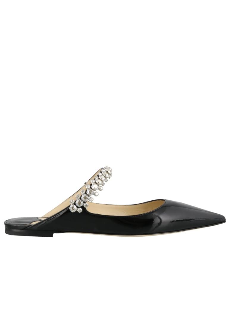 Jimmy Choo Bing Flat Sandals - Nero