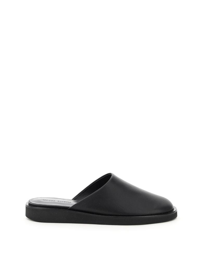 Magda Butrym New Comfy Mules - BLACK (Black)